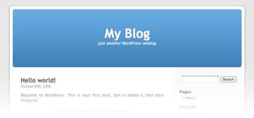 Kubrik - Das erste offizielle WordPress Standard Theme