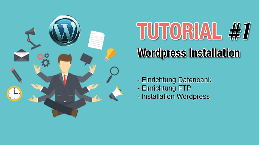 Hier erfährst Du in einfachen Schritten und mit Video wie einfach es ist Wordpress zu installieren.