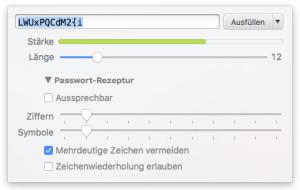 Sicheres Passwort für Worpress Dashboard erzeugen