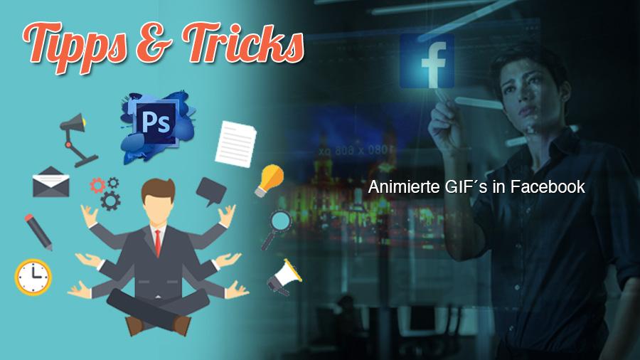 Kann Facebook animierte Gifs darstellen?
