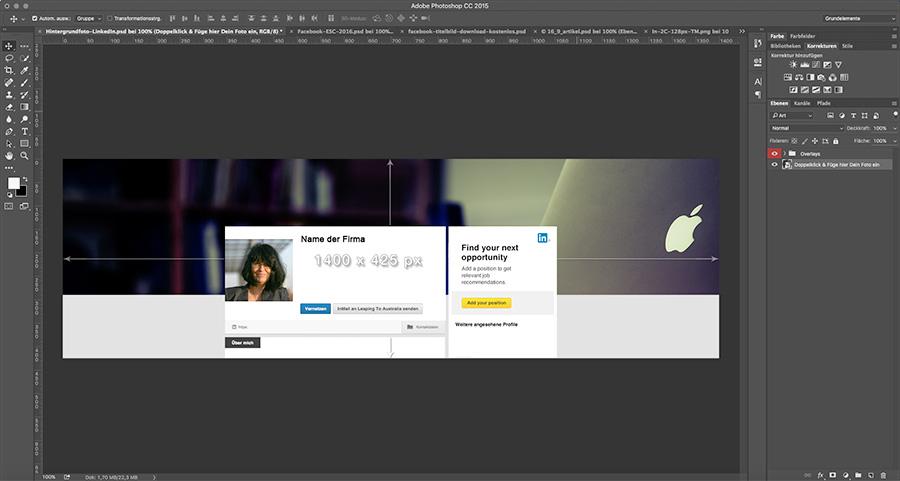 LinkedIn Hintergrundfoto
